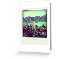 Phi Phi Island - Thailand Greeting Card