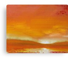 Remembering Sunset Canvas Print