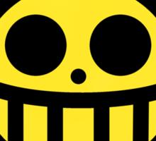 Heart Pirates Logo (Blurred Background) Sticker