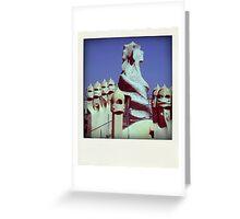 Barcelona - Spain Greeting Card