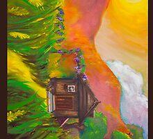 Winery in the Sunset by Reshma Zachariah