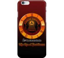 Eye of Providence clock iPhone Case/Skin