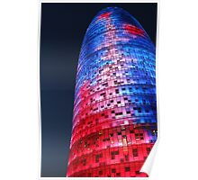 Torre AGBAR Poster