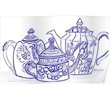 Teapots Poster