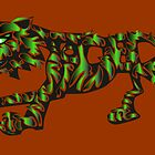 Green Tiger by Tom Godfrey