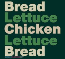 Chicken Salad Sandwich by CarbonClothing