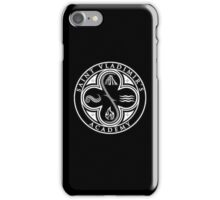 Vampire Academy logo black iPhone Case/Skin