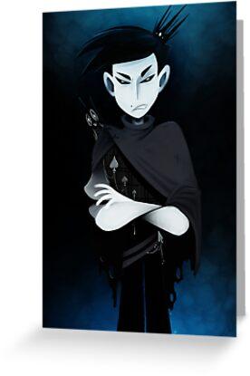 Prince of Spades Poster by stephanieratt