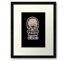 Lil Predator Framed Print