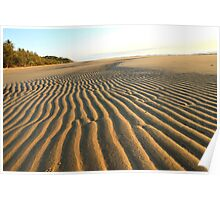 Sand Corrugations Poster