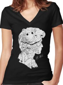 Eleven Hour Women's Fitted V-Neck T-Shirt