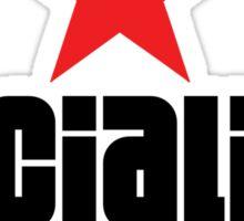 Socialist Revolutionary Red Star Stickers Sticker
