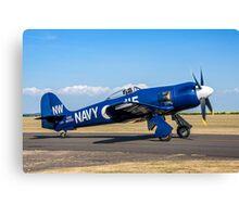 "Hawker ""Baghdad""  Fury 1 ISS F-AZXJ Canvas Print"