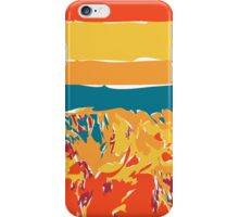 Alien Antarctic Mountainscape iPhone Case/Skin