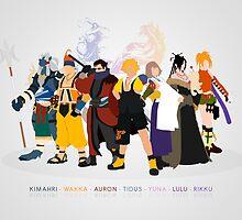 Final Fantasy X - Poster by Daniel Espinola
