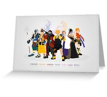 Final Fantasy X - Poster Greeting Card