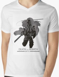 Death and Rebirth Mens V-Neck T-Shirt