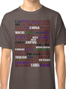 hetalia || characters Classic T-Shirt