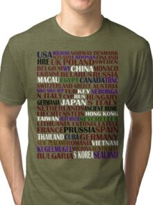 hetalia || characters Tri-blend T-Shirt