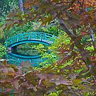 Monet's Bridge and Gardens by John Butler
