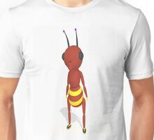 Cartoon Ant Low Poly Style Unisex T-Shirt