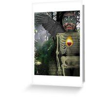 spring crow bruxo Greeting Card