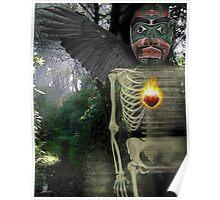 spring crow bruxo Poster