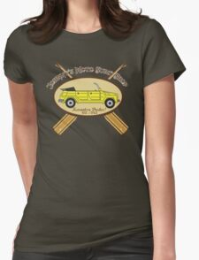 Moto Surf! Womens Fitted T-Shirt