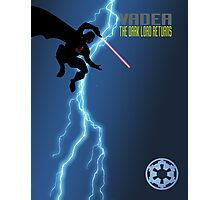 Vader - The Dark Lord Returns Photographic Print