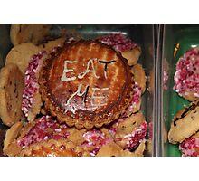 Alice wonderland cookies Photographic Print