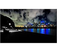 Darkness Meets Nights Photographic Print