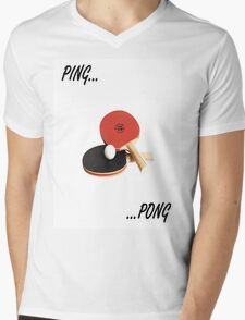 ping pong Mens V-Neck T-Shirt