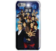 The 12 Doctors iPhone Case/Skin