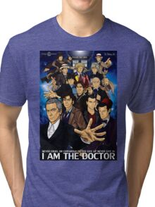 The 12 Doctors Tri-blend T-Shirt