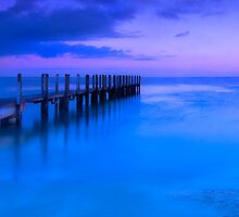 Quindalup jetty at sunrise 3:1 by BeninFreo