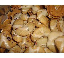 Cranberry cookies Photographic Print