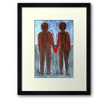 LOVE IS 4 Framed Print