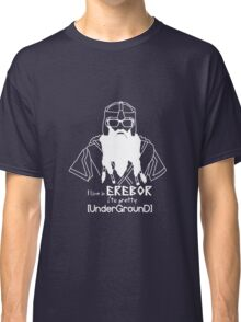 Hipster Dwarf (Dark Background) Classic T-Shirt