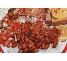 Puerto Rican Dish Photographic Print