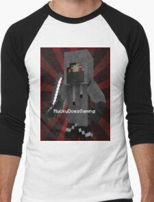 MuckyDoesGaming T-Shirt! Men's Baseball ¾ T-Shirt