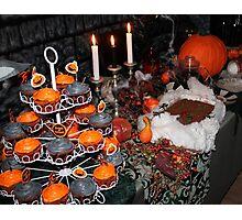 Halloween setting  Photographic Print