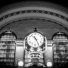 Grand Central Station Black and White by Nicholas Jermy