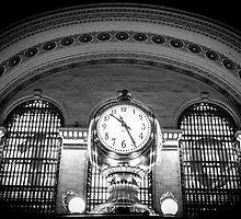 Grand Central Station Black and White by Nicholas Jermy