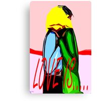 LOVE IS 5 Canvas Print