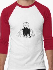 Hipster Dwarf Men's Baseball ¾ T-Shirt