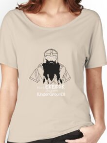 Hipster Dwarf Women's Relaxed Fit T-Shirt