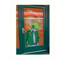 Dreams Of Green Tea Art Print