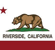 Riverside California Republic Flag by NorCal