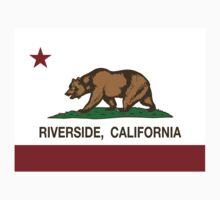 Riverside California Republic Flag Kids Tee