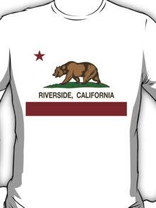 Riverside California Republic Flag T-Shirt